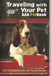 AAA Traveling With Your Pet Book