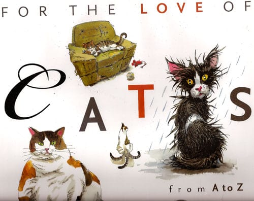 Sandy Robbins Book, For The Love of Cats