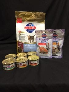 Enter to win one of 20 Hills Science Diet Gift Baskets.