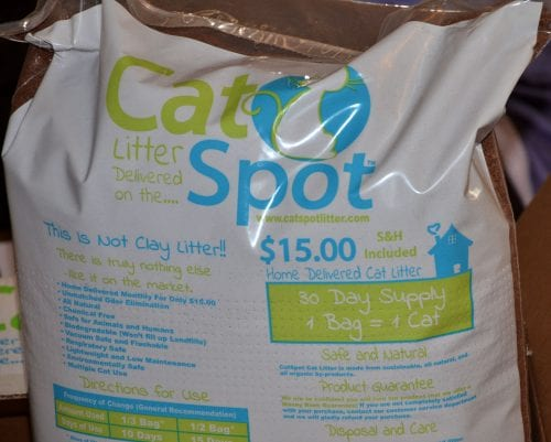 Catspot A New Type Of Cat Litter Bj Bangs Paws For